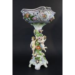 Centro de mesa porcelana Dresden