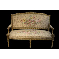 19th century French sofa