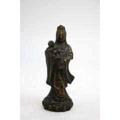 Guanyin bronce siglo XVIII - XIX