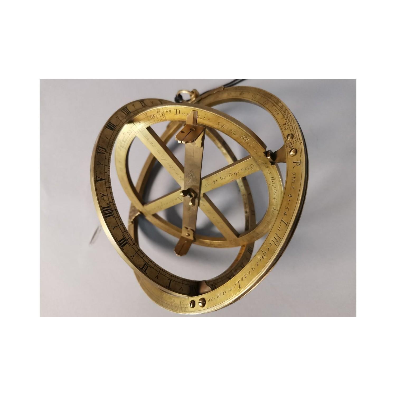 Astrolabio equinoccial, siglo XVIII