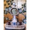 Reloj de marmól, siglo XVIII
